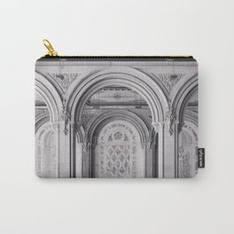 Once at Bethesda Terrace - Central Park NYC Carry-All Pouch