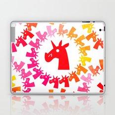 Color Me Red Unicorn Laptop & iPad Skin