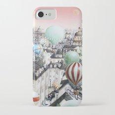 Balloon travel iPhone 7 Slim Case