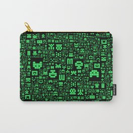 Hello Invaders Carry-All Pouch