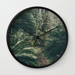 Happy Trails XVIII Wall Clock