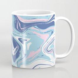 Blue abstract vivid marlbe Coffee Mug