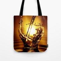 drink Tote Bags featuring Drink by Digital Dreams