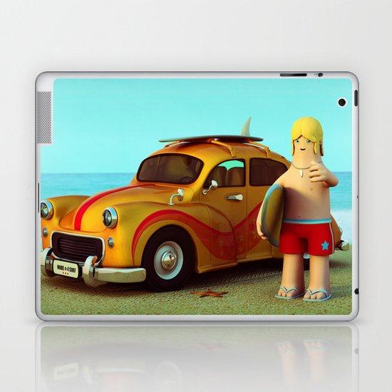 Surf Dude Laptop & iPad Skin