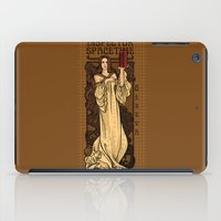 theatre iPad Cases featuring Theatre in Spacetime by Karen Hallion Illustrations
