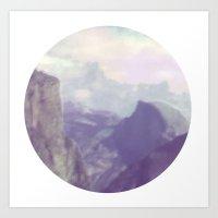 yosemite Art Prints featuring Yosemite by Murado&Elvira