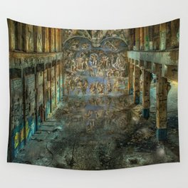 Apocalyptic Vision of the Sistine Chapel Rome 2020 Wall Tapestry