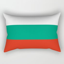 flag of bulgaria -bulgarian, България,български,slav,cyrillic,Sofia,bulgaria Rectangular Pillow