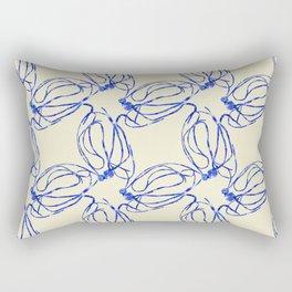 Seaweed Abstract Rectangular Pillow