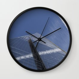 Reflections Of The Shard  Wall Clock