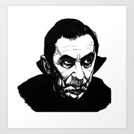 Bela Lugosi's Dracula Art Print