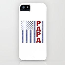 American Papa iPhone Case