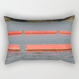 Lake Barriers Rectangular Pillow