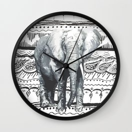 Mr Elephant. Wall Clock