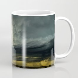 Supercell - Massive Storm Over the Great Plains Coffee Mug