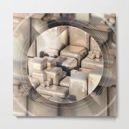 PureGold Metal Print