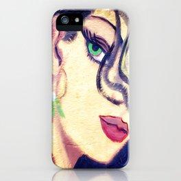 The beautiful gypsy girl iPhone Case