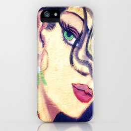 The beautiful gypsy girl iPhone Case