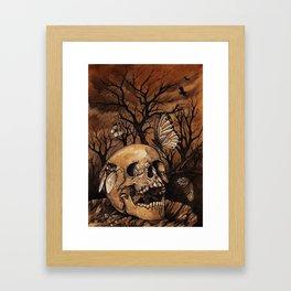Autumnal Melancholy Framed Art Print