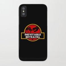 Jurassic Betrayal iPhone X Slim Case