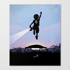 Green Lantern Kid Canvas Print