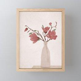 Vase Framed Mini Art Print