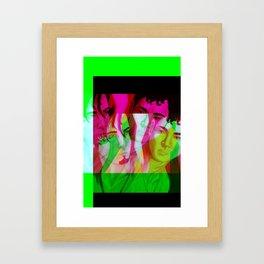 Akio and Brandon 1 Framed Art Print