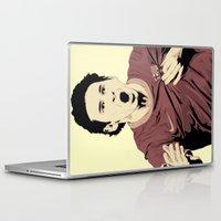 messi Laptop & iPad Skins featuring Messi by Renan Lacerda