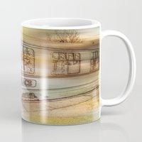 grace Mugs featuring Grace. by Heather Goodwin