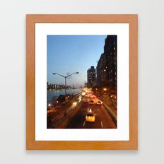 FDR Overpass Framed Art Print
