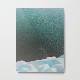 Simply cold Metal Print