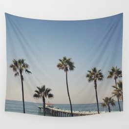 Manhattan Beach Pier Wall Tapestry