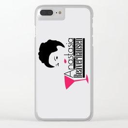 Anastasia Beaverhausen Clear iPhone Case