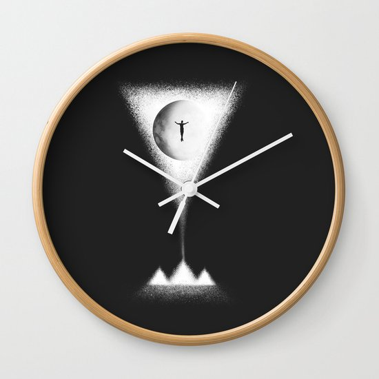 pyramid Wall Clock