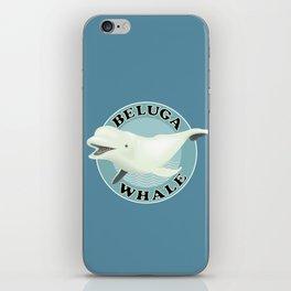 Beluga Whale iPhone Skin