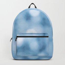 unfocused blue Backpack