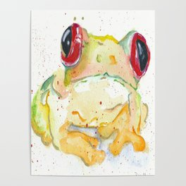 Springy Froggy Poster
