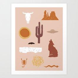Death Valley Days 1 Art Print