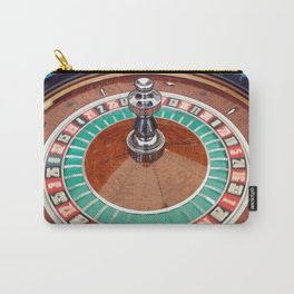 Roulette spinning wheel in action Carry-All Pouch