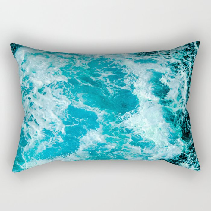 Sea Me Waving Rectangular Pillow