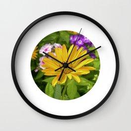 garden flower II Wall Clock