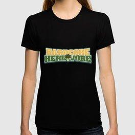 Hardcore Herbivore | Funny Veggie vegan Diet  product T-shirt