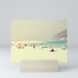 beach day out Mini Art Print