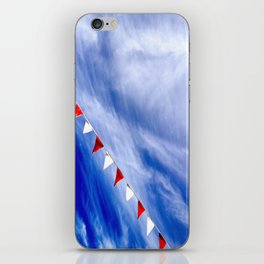 Red, White, and Blue iPhone Skin