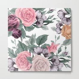 FLOWERS VIII Metal Print