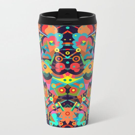 Festal Metal Travel Mug