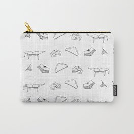 undies b&w Carry-All Pouch