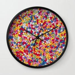 Hundreds and thousands Wall Clock
