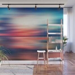 Abstract Sunset VI Wall Mural