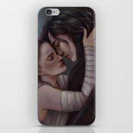Whatever our souls are made of, his and mine are the same iPhone Skin